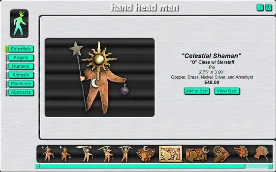 hand head man Jewelry Catalog by handheadman