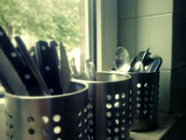 Knives, Forks and Spoons by mickhummel