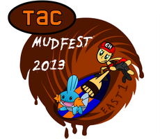 Mudfest 2013 E1 T-Shirt Design by Recycle-Or-Die