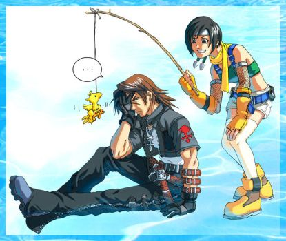 KH: Leon and Yuffie by Risachantag