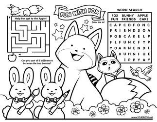 Fun with StupidFox - Placemat by eychanchan
