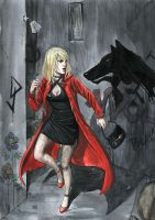 Little Red Riding Hood by skorpi
