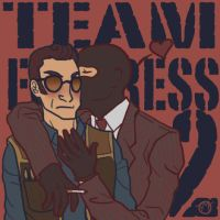 TF2: Smooches by objectively-pink