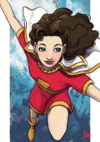 Daily Sketches Mary Marvel by fedde