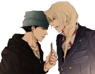 Hobo and Kristoph by soak1111