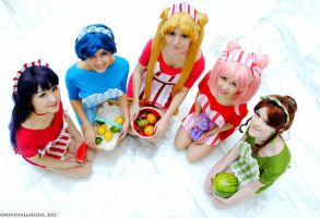 Maids - Sailor Moon by Mostflogged