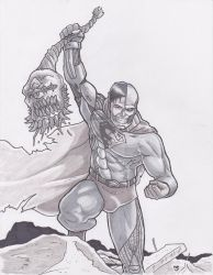 Cyborg Superman vs. Doomsday by Alexander463