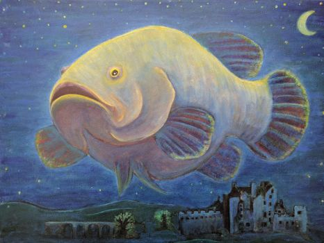 Night fish by agalula