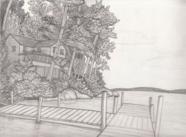 Landscape Sketch 12 by Whimsy-Floof