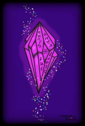 Purple Crystal of Magic Power! by MelianMarionette
