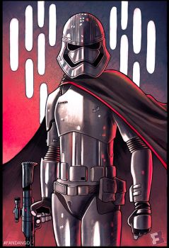 Captain Phasma by ChrissieZullo