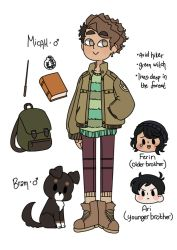 OC: Micah Reference by TheHoneybird