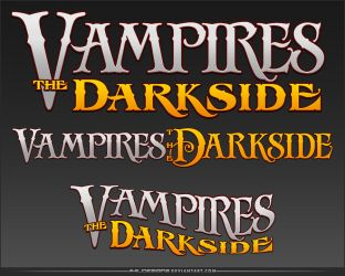 Vampires: The Darkside Logo by AHiLdesigns