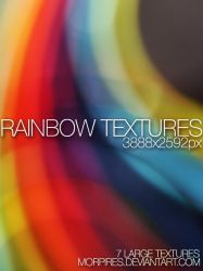 Light Textures 7 | rainbow by Morpires