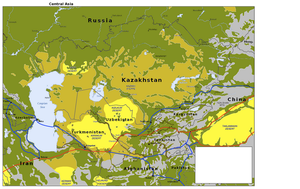 Central Asia and the Silk Road by Hillfighter