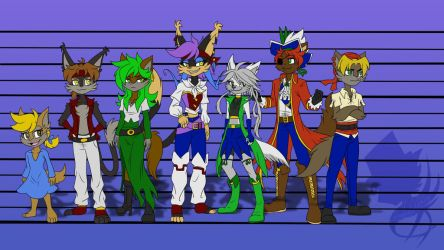 Pirates Height Chart by DreagonArchives