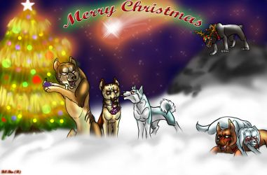 Ginga Christmas by BlackCat-Bia