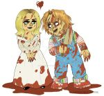 Chucky and Tiffany by RatTheRipper