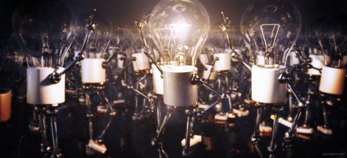 The Brightest Bulb In The Bunch by JoePingleton