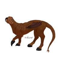 How I Draw: The Jersey Devil (request) by horse14t