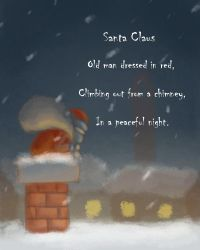Christmas Haiku [Santa Claus] by bluenut15