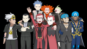All of the Team Villain Bosses in MMD by CN100eg