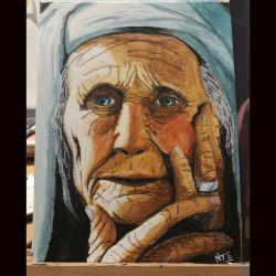 Old Woman by nicott99