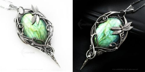 MADARRHAX Silver and Labradorite by LUNARIEEN