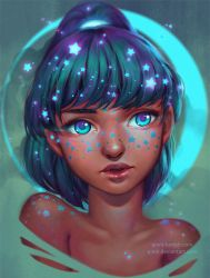 Freckled Stars by Qinni