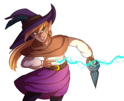 Taako casting a spell by MinorFandoms