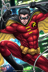 TIM Drake colored by johnbecaro