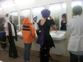 Cosplay Shenanigans by ShiroiKiba88
