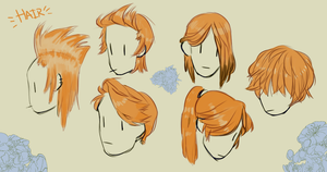 Main Character Hair Styles by Pukao