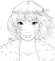 Princess Mononoke - Disney Style by YummingDoe4
