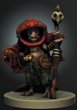 Support: Murell the Bilgwater Witch Doctor by Mamaleen