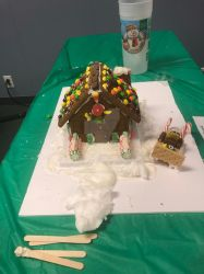Gingerbread House by Asherbirdman