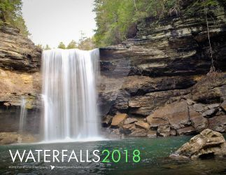 2018 Waterfall Calendar by SerafinaMoon