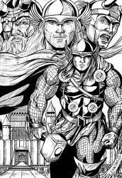 Thor the Might by leandro-sf