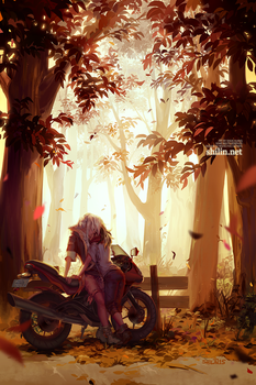 Autumn by shilin