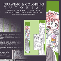 Drawing and Coloring Tutorial by fieryamazon