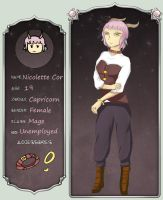 ZoA: Nicolette (revamped) by Lunaoverthecow