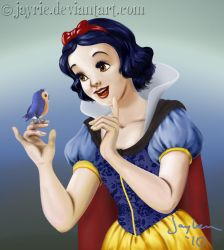 Snow White coloring page by Jayrie