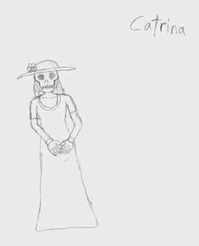 Day of the Dead - Catrina by Laharl234