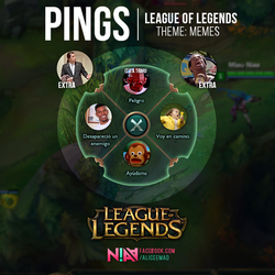 League of Legends Pings - Memes by AliceeMad