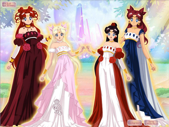 Daughters of Serenity and Seiya by HeartStorm4ever