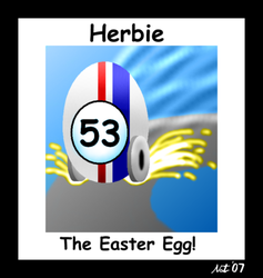 Herbie the Easter Egg by NatPal