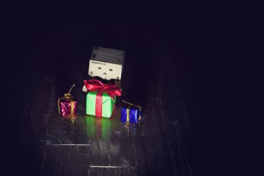 Danbo Xmas 2010 by enemydownbelow