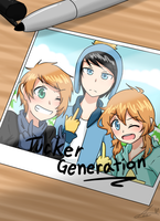 liam and the tucker generation commish~~ by NiniTheWeenie
