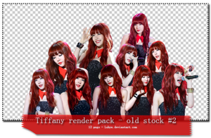 (PNGs pack #17) Tiffany render pack - old stock #2 by Luhye