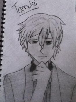 Tamiki from ouran high school host club by katieeee97